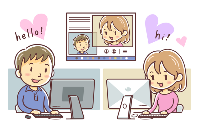 オンライン婚活サービスの特長